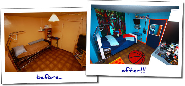 Bedroom Makeover Before And After angel's bedroom makeover | blissfulbedrooms