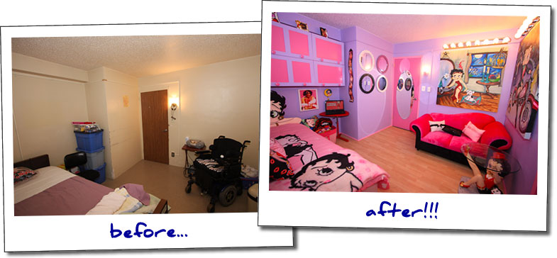 Bedroom Makeover Before And After sabrina's bedroom makeover | blissfulbedrooms