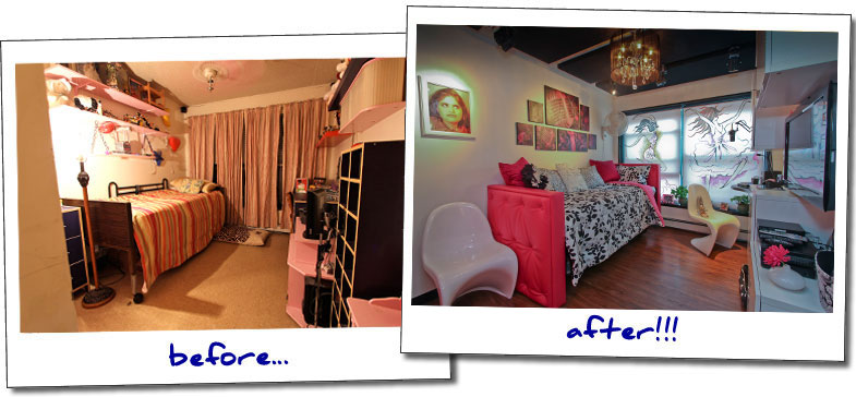 Bedroom Makeovers Before And After christine's bedroom makeover | blissfulbedrooms