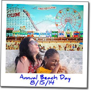 AnnualBeachDay2014-Polaroid