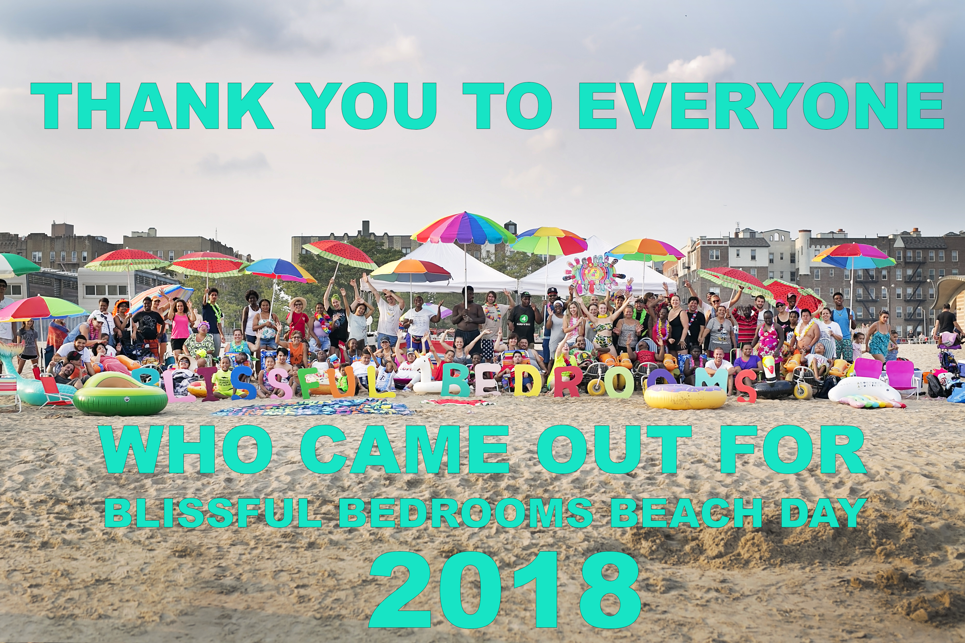THANK YOU FOR COMING GRAPHIC - BEACH DAY 2018
