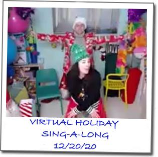 BB VIRTUAL HOLIDAY SING-A-LONG POLAROID