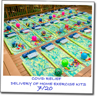 COVID RELIEF KITS 2020-Polaroid